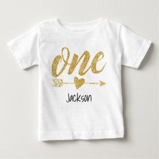 Un an personnalisé t-shirt pour bébé