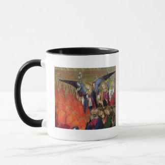 Un ange, du 'couronnement du Virgin Mug