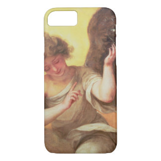 Un ange tenant un flacon en verre coque iPhone 7