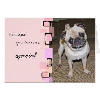 Un anniversaire très spécial de carlin cartes de vœux