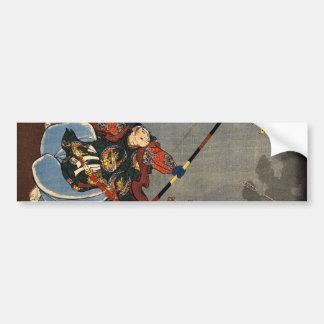 Un Archer samouraï Adhésifs Pour Voiture