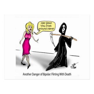 Un autre danger de bipolaire : Flirt avec la mort Carte Postale