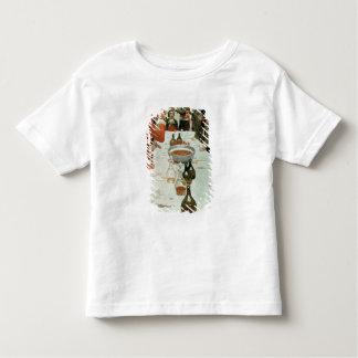 Un banquet à l'illustration de Genet de Washington T-shirt Pour Les Tous Petits
