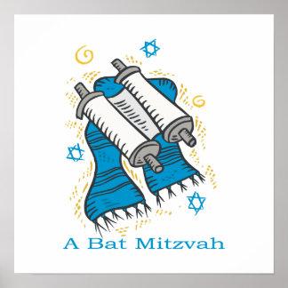 Un bat mitzvah poster