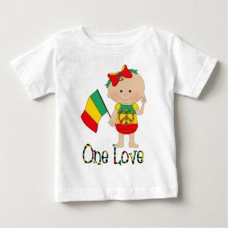 Un bébé 2 de Rasta d'amour T-shirt Pour Bébé