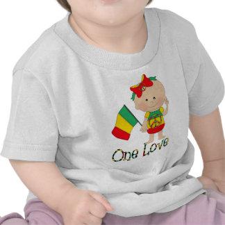 Un bébé 2 de Rasta d'amour T-shirts