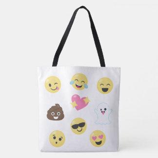 Un bon nombre de sac d'Emojis