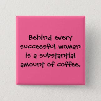 Un bon nombre réussis de boissons de femmes de badges