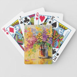 Un bouquet des fleurs sauvages jeu de cartes