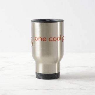 Un bruit frais mug de voyage en acier inoxydable