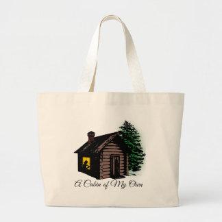 Un cabine de mes propres grand tote bag