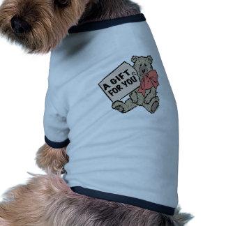 Un cadeau pour vous t-shirts pour chien
