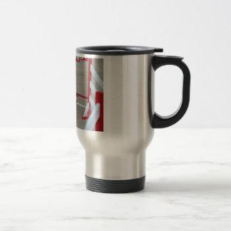 Un café... Pour les concours d'agilit... Mug De Voyage En Acier Inoxydable