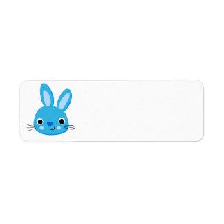 Un certain lapin m'aime les étiquettes de adresse