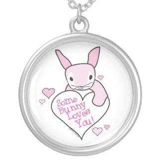 Un certain lapin vous aime collier