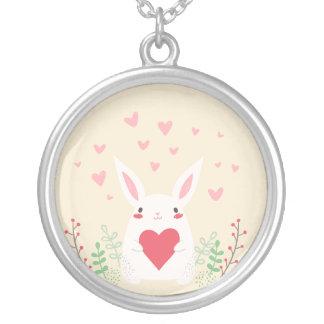 Un certain lapin vous aime collier pendant