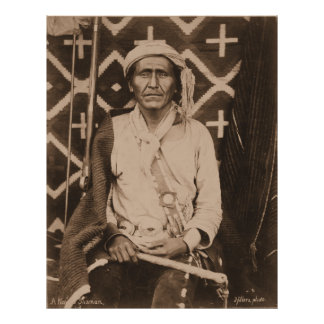 Un chaman de Navajo - 1879 Posters