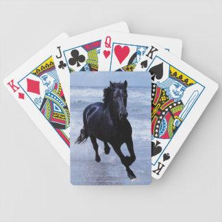Un cheval sauvage et libre jeux de cartes