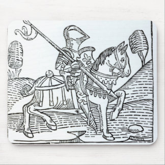Un chevalier, jeu de Caxton du 'des échecs Tapis De Souris