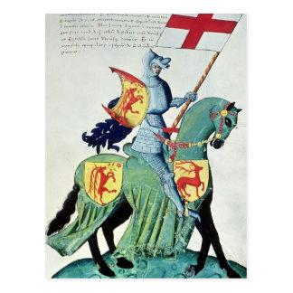 Un chevalier portant les bras de Vérone Cartes Postales
