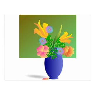 Un Clipart fleurit le bouquet Cartes Postales