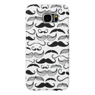 Un club des messieurs. Motif 2 de moustache