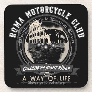 Un club étrange de moto dessous-de-verre