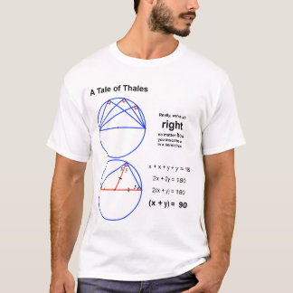 Un conte de Thales T-shirt