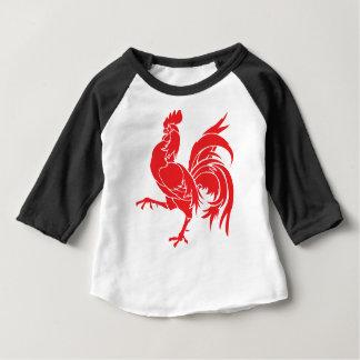 Un coq rouge t-shirt pour bébé