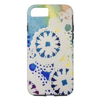 Un coque iphone d'aquarelle de colorant de