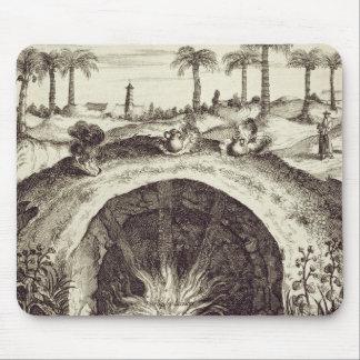 Un cuiseur souterrain de vapeur de géant, de 'Chin Tapis De Souris