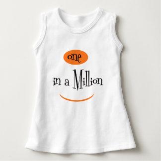 UN DANS de le bébé MIGNON MILLION de BANDE Robe Sans Manche
