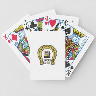 un de la fente chanceuse jeux de cartes