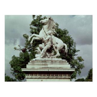"""Un des deux """"chevaux marneux"""", 1739-45 carte postale"""