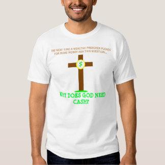 un dieu de ca$h ! t-shirts