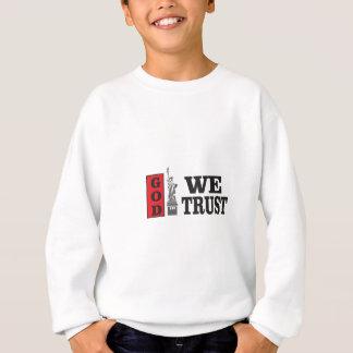 Un dieu de NY que nous faisons confiance Sweatshirt