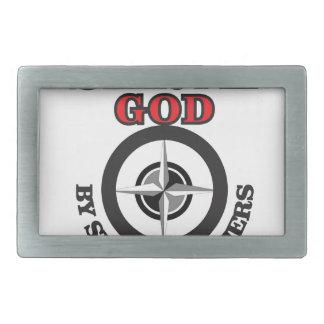 un dieu de service en servant d'autres ouais boucle de ceinture rectangulaire
