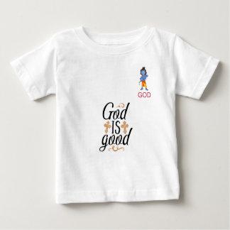 un dieu est bon T-shirt de bébé