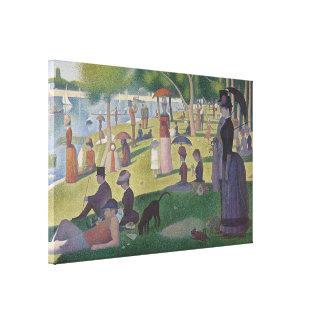 Un dimanche après-midi par Georges Seurat Toiles