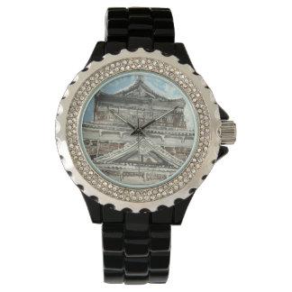 Un d'une montre aimable du Japon de château