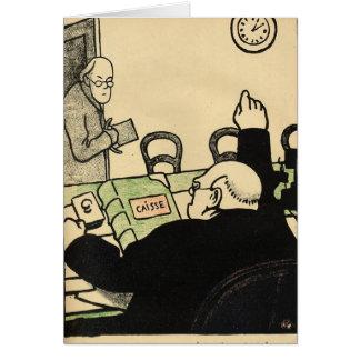 Un employeur renvoie un de ses employés carte de vœux