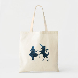 Un enfant et une licorne sac