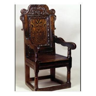 Un fauteuil de Charles I, mi 1600s Cartes Postales