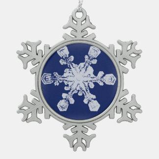 Un flocon de neige du flocon de neige 10 ornement flocon de neige pewter