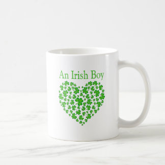Un garçon irlandais mug blanc