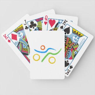 Un grand cadeau de triathlon pour votre ami ou jeu de cartes