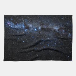 Un groupe d'étoiles serviettes pour les mains