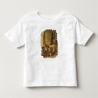 Un guerrier dans la pensée t-shirt pour les tous petits