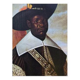 Un homme de couleur du Congo Carte Postale