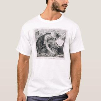 Un homme instruit absorbé dans Coran T-shirt